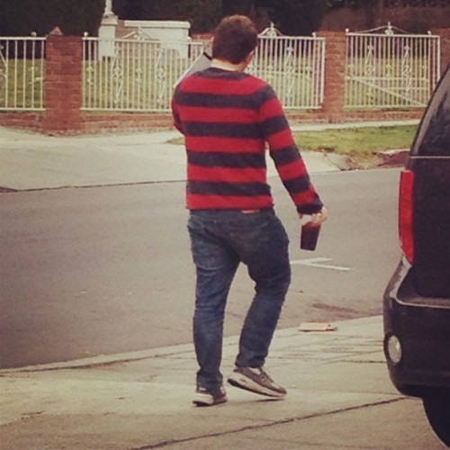 1, 2, Chubby Hipster Freddy's coming for you, Los Feliz.