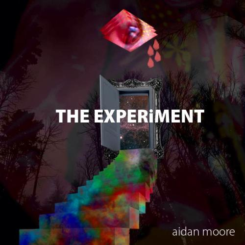 The cover artwork for my sophomore studio tape The Experiment, that drops on Sunday, April 28th.