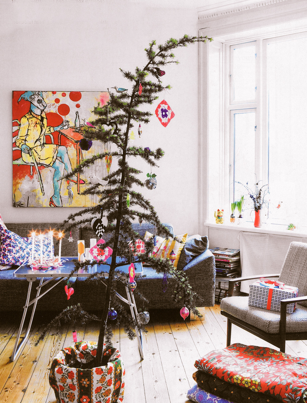 Colorful Scandinavian Christmas, image by Bolig