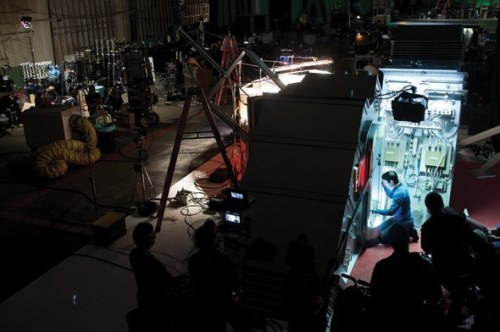 deareje:  Spoiler-ish #StarTrek #IntoDarkness photos from the production designer Scott Chambliss. More here http://www.scottchambliss.com  I don't understand why they didn't dye BC's double's hair dark as well.