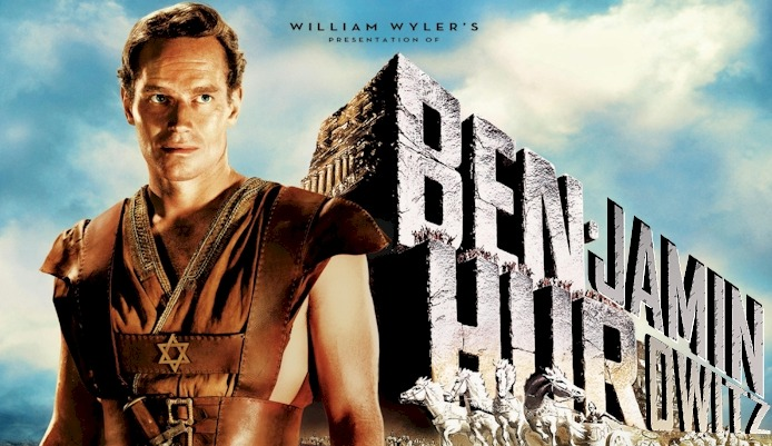 A lot of people don't realize that Ben Hur was originally called Benjamin Hurowitz, but had to change its name due to Hollywood prejudices of the time.