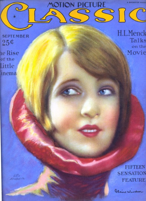 Claire Windsor cover of Motion Picture Classics, 4 September 1926