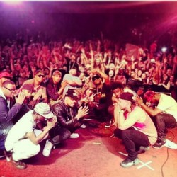 S/o su and problem for an epic show and fuckin wit the homie in Chico! #mdatour #chico