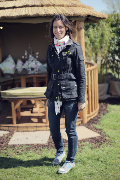 Georgie loves her Barbour because its 'British and Classy'. what do you think of yours?