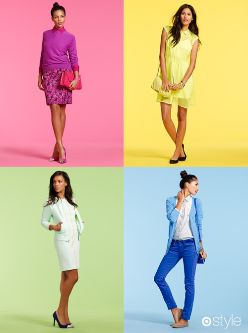 targetstyle:  Looks we Love Whatever your favorite color is, kick off the new year by wearing it loud and proud. own it now: looks we love this month.