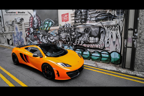 automotivated:  ROAR!~ Revozport McLaren MP4-12C with Vorsteiner VS-360 Forged Wheels (by Creative l Studio)