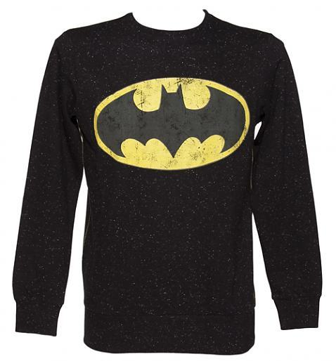 Geek buy of the day is just for us in Europe.This black speckeld Batman logo sweatshirt says it's for men but I think would look a whole lot better on us girls. Buy yours from TruffleShuffle today for £34.99.
