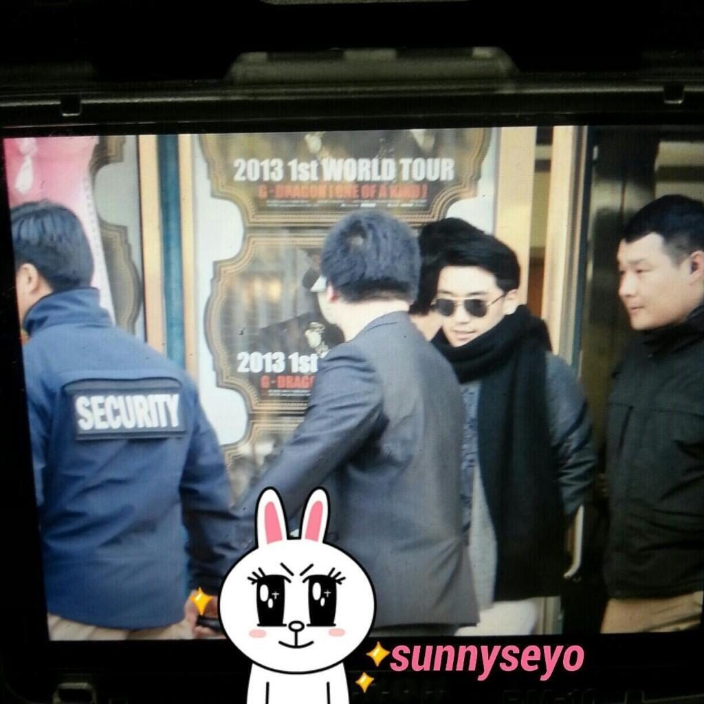 [FanTaken] Seungri Leaving G-Dragon Concert Venue (1303301) Source: as tagged via @mystifize