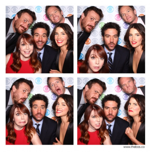 The cast of HIMYM at the CBS Upfront