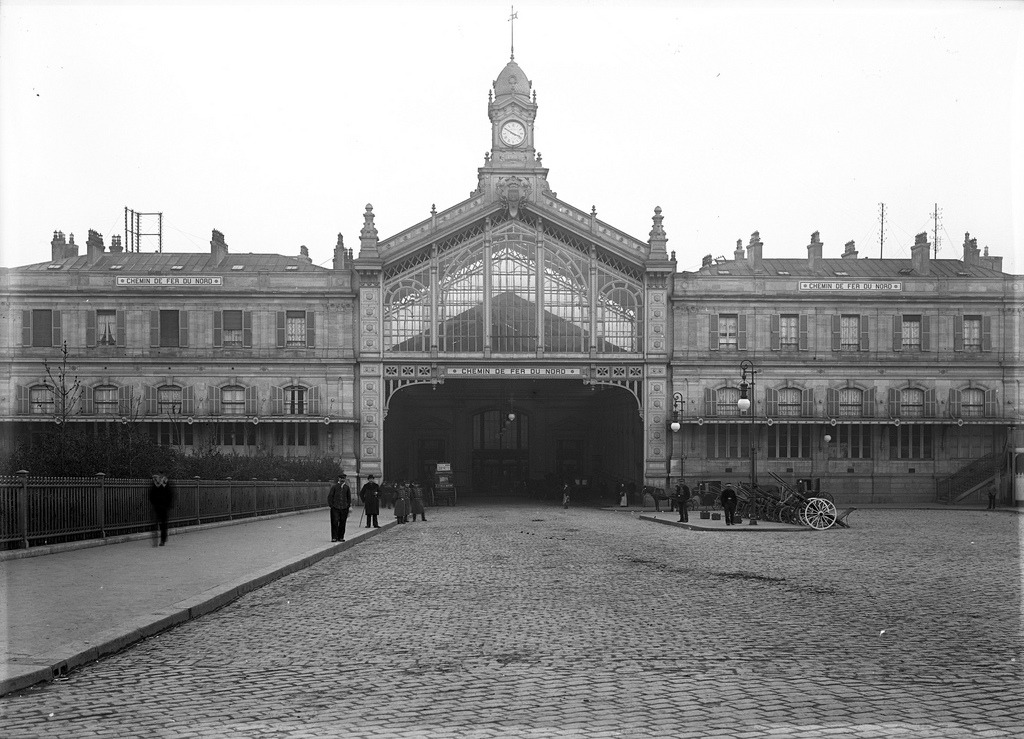 The train station, Amiens