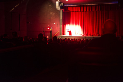 Marc Lafrenière: The Host, Holy Heart Theatre, St. John's, 2013.