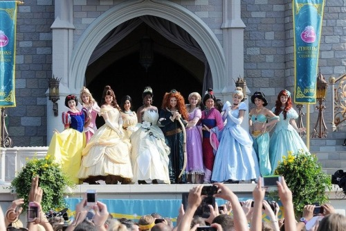 Brave's Merida Crowned 11th Disney Princess Today At The Magic Kingdom.  Read More: http://bit.ly/13OB93j