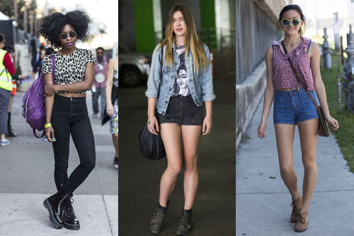 It's festival time! Get some outfit inspiration from these fashionable South by Southwest attendees »