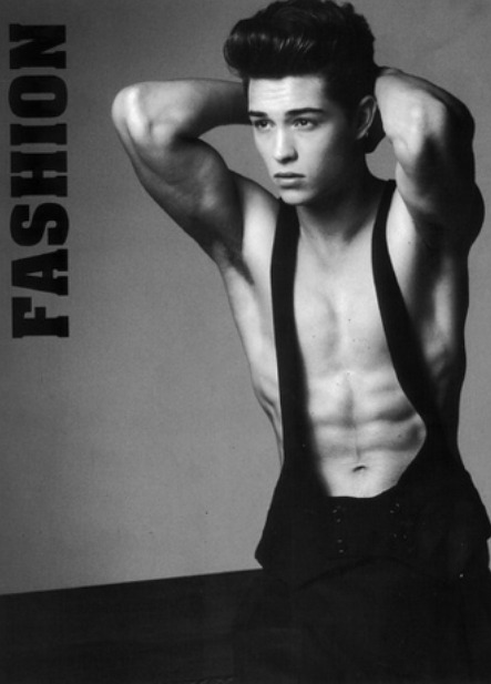 Francisco Lachowski.  via Ford Models