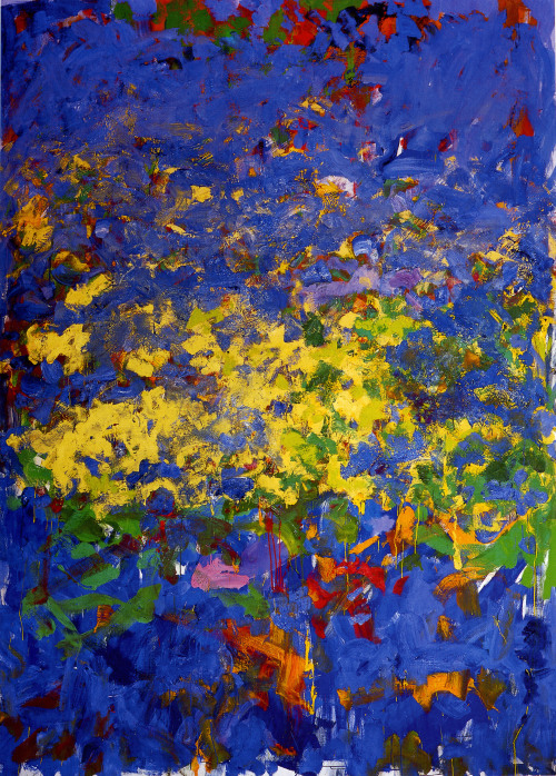 Joan Mitchell piece of work, 50's,
