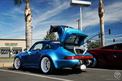 automotivated:  Insane Porsche Bisimoto (by I am Ted7)