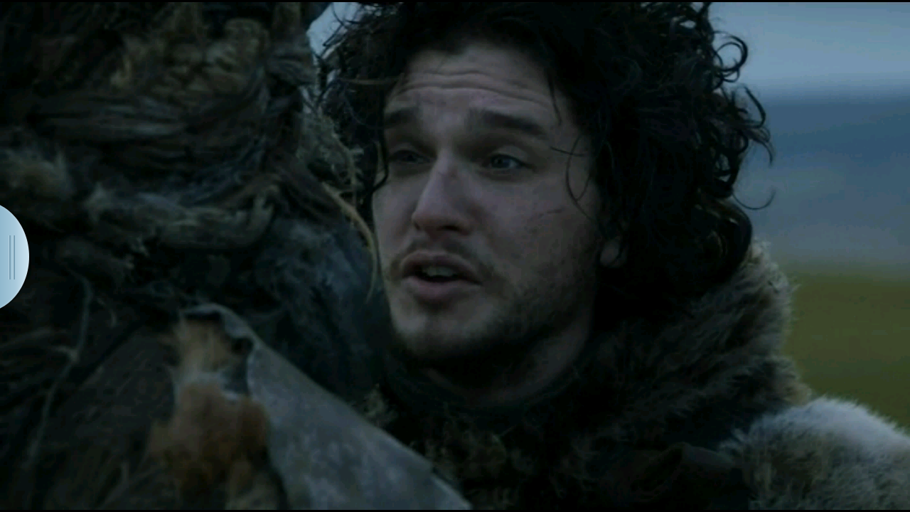 Love screenshots.  Silly Jon Snow.    Source:  Game of Thrones HBO