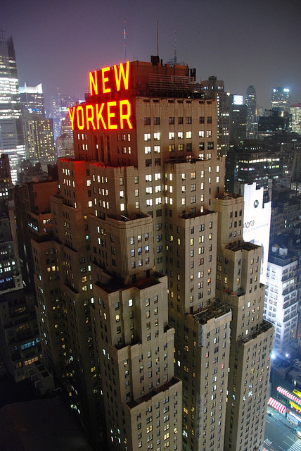 fyeahhotel:  New Yorker Hotel by Michael McDonough on Flickr.