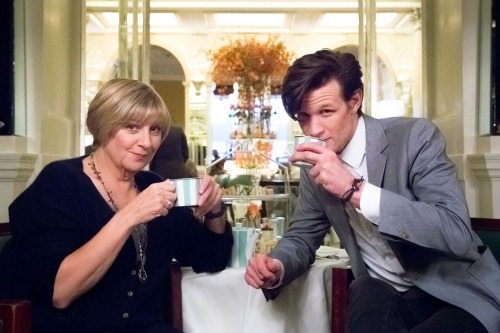 a-herald-i-am:  I was watching this programme and suddenly Matt Smith appeared ;')