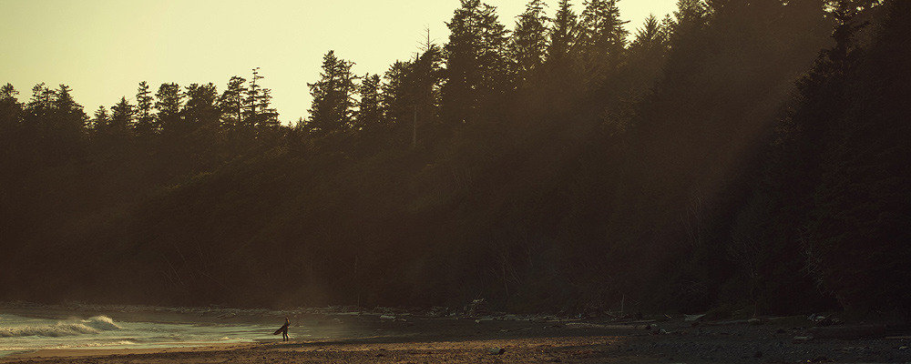 Marlo Lavonne: Florencia Bay, BC. 2011. Walking down to this beach felt like coming home. It felt more lived in than other beaches in the area. People had built fires, hung clothes to dry, cooked food. I need to go back.
