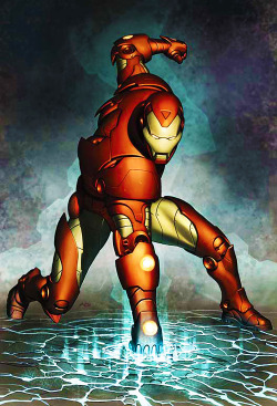 infinity-comics:  Iron Man vol. 3 #77 cover by Adi Granov