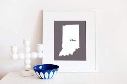 (via Indianapolis is My Home // 8x10 Digital Print by BrightWallVintage)