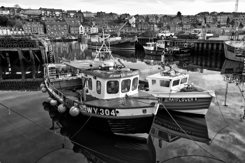 Harbour Whitby is a fishing town on the North Yorkshire coast and boyhood home to explorer Captain James Cook.