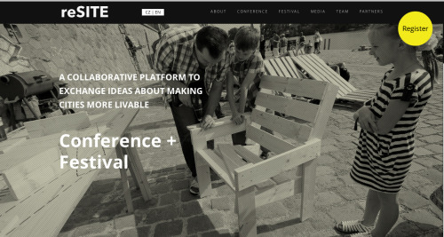 reSITE website gets NEW DESIGN! www.resite.cz - we hope'll you like it :)  More info coming soon!