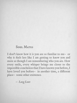 langleav:  For Michael. xo   Soul mates. ❤