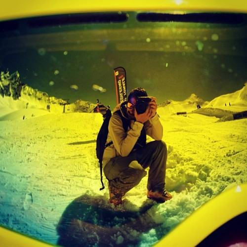 #Powerdays13 #me #self #selfshot #io #tonal #pass #snow #sun and #snowboard #blue #sky#white #snow on the #mountains #snowboarding #sport #fun #wow #lol #powerdays #bellavita #tonal #pass #cliff #jump #trick #great #fun #light #grab #air #extreme #pro #solocosebelle #2013  (at Passo Del Tonale)