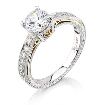 Stunning Solitaire from Coast Diamond! #engagement