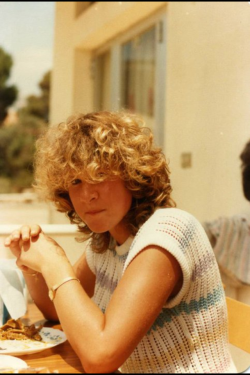 detzcorner:  Me when I was 17.  My Mum at 17!!!(That's her blog by the way! Go follow her!)