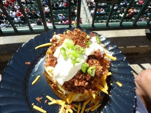 buzzfeed:  Take me out to the ballgame (as long as there's food).