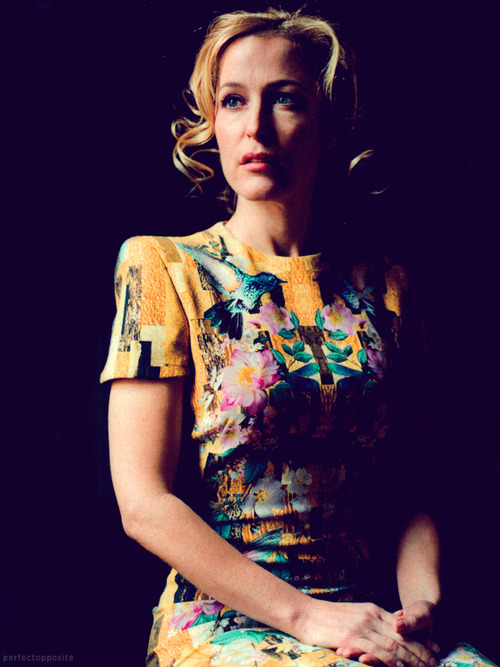 perfectopposite:  Gillian Anderson for Stella Magazine