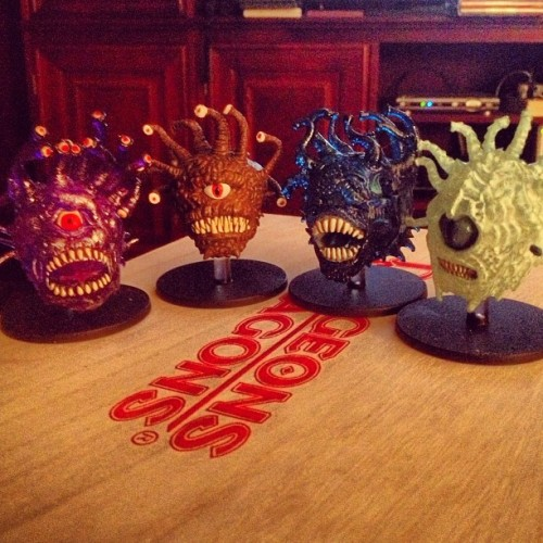 I just want to hug all of the beholders.
