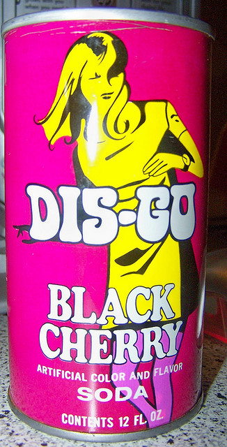 Dis-Go Black Cherry Soda (1960s)