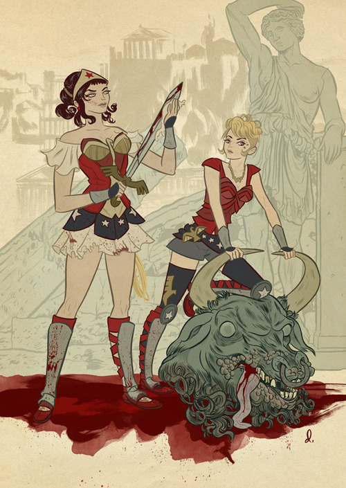 Wonder Woman by Daniel Krall