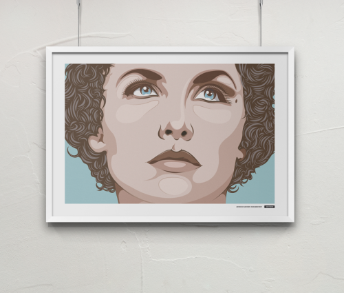 Digital print of the fictive character 'Audrey Horne' (Twin Peaks). Edition of20 x 1000x700 mm (BW), 20 x 1000x700 mm (color)20 x 700x500 mm (BW), 20 x 700x500 mm (color)All signed och numbered. More pictures / Facebook / Instagram ————————get your work featured by submitting it to designersof.com