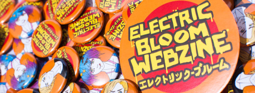 electricbloomwebzine:  New badges and stickers designed by Choi Illustrations have arrived!
