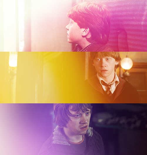 Harry liked Hermione very much, but she just wasn't the same as Ron.