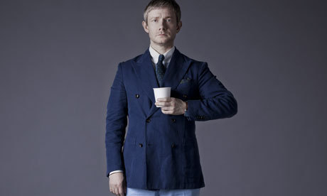 Nice profile piece from the Guardian on Martin Freeman, with new quotes from him on filming Sherlock S3.Read the article here.