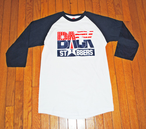 Dream Team Baseball T's now available online at http://www.backstabbersclothing.com/