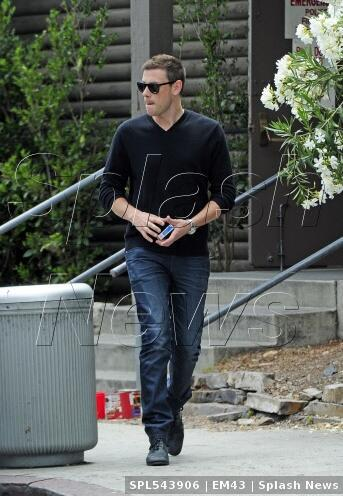 Cory Monteith wears @JoesJeans out in LA  x