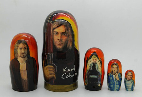 Happy Birthday, Kurt Cobain! Look at the beautiful gifts we got you Celebrate Kurt Cobain's Birthday With the Weirdest Nirvana Merch on Etsy