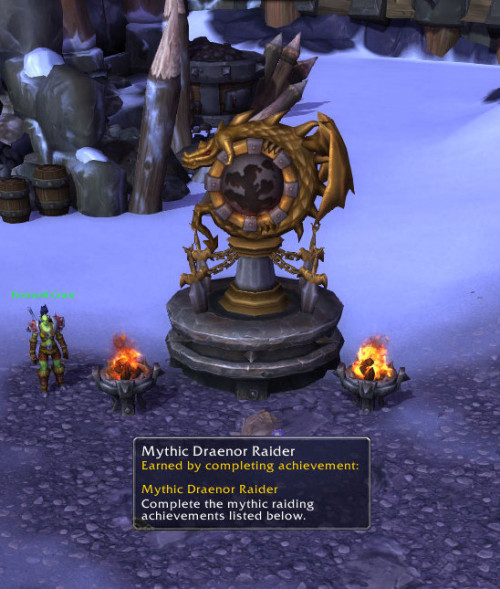 wow-images:  A look at some of the WoD Trophies!