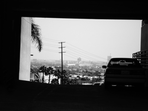 The always inspiring NORTHERN SOUL made a trip to Los Angeles and shot these lovely black and white images.