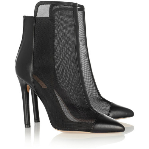 Reed Krakoff ankle booties   ❤ liked on Polyvore (see more pointed toe boots)