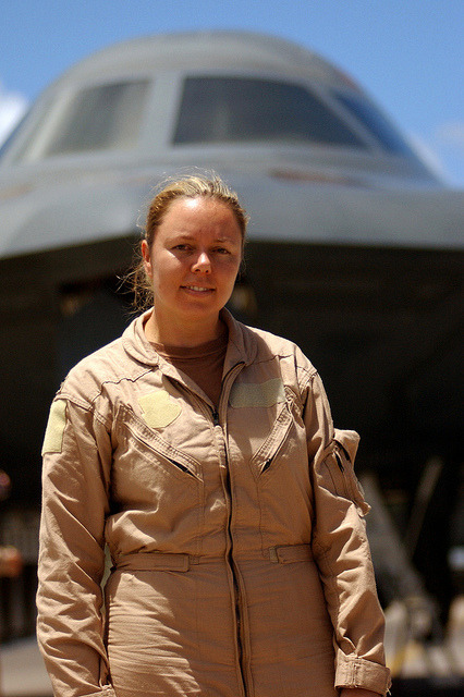 girls-n-aircraft:  B-2 Bombers Female Pilots by Boaz Guttman on Flickr.