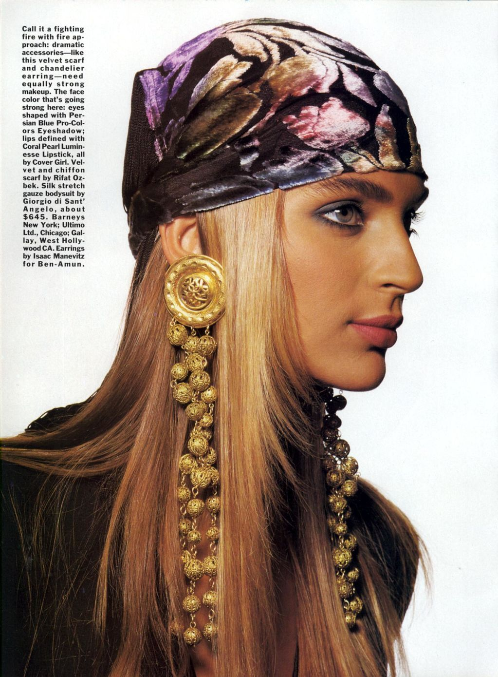 80s-90s-supermodels:  Vogue US, October 1989Photographer : Irving PennModel : Gabrielle Reece Happy birthday, Gabrielle !   So beautiful