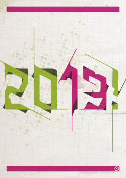 2013! - the best year of your life yet by Olaf Łyczba.